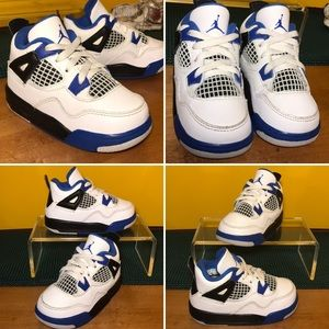 🏀 AIR JORDAN Retro 4 MOTORSPORT Sneakers Size 6C